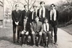 027 George Thompson, Teacher(c) with Prefects