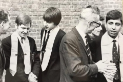026 E.J. Catling (Headmaster) with Prefects