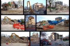 Quintin Kynaston School Demolition (2015)