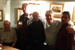 018 -  Len Clark (Dep Head & Maths), Tim Watson (Kynaston Pupil & Woodwork teacher), Andy Coomar, Trevor Abrahmsohn, Evan Sepain