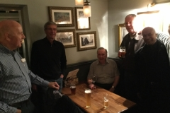 022 - Rob Sherwin (Kynaston & QK), Peter Hughes (Kynaston PE Teacher), Len Clark (Dep Head & Maths), Tim Watson (Kynaston Puplil & Woodwork Teacher),  Andy Coomar