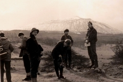 004 Geography Field Trip, Yorkshire 1963 or 64. Ingleborough in background. Rob Paskin(5)